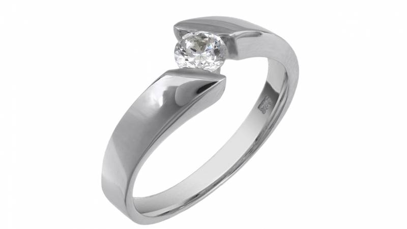 Μονόπετρο δαχτυλίδι 9 καρατίων  c4590ac5838