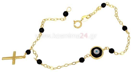 Χρυσό Βραχιόλι Κ14 001300  feeb155c3fb