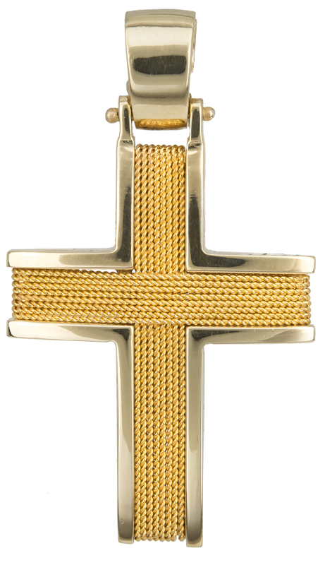 Χρυσός σταυρός 18Κ  fd8b33cbdf9