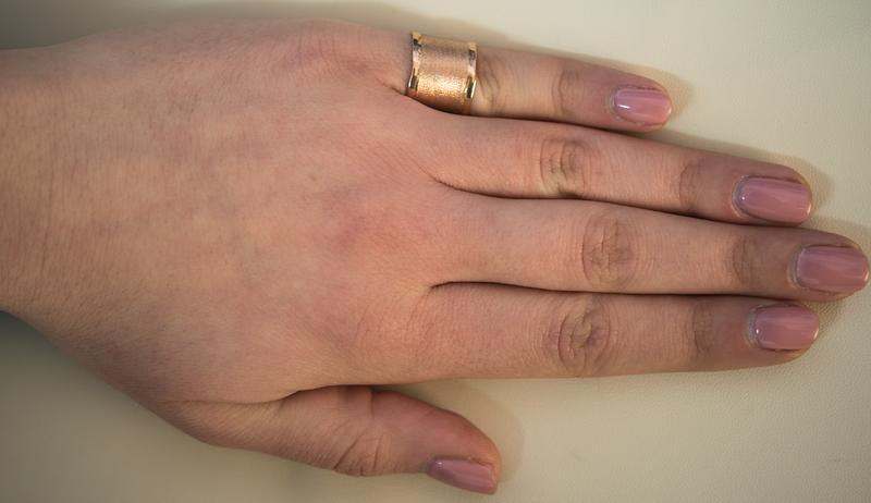 Ροζ επίχρυσο δαχτυλίδι σεβαλιέ 925 021859  70c1677394c