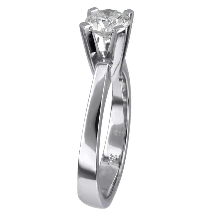 Λευκόχρυσο μονόπετρο με διαμάντι Κ18 024731  9c87501b091