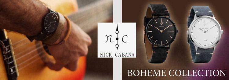 Nick Cabana ρολόγια