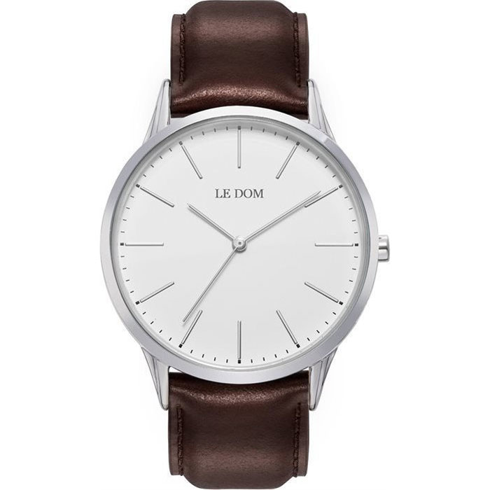 Le Dom Classic Silver-Brown LD.1001-11