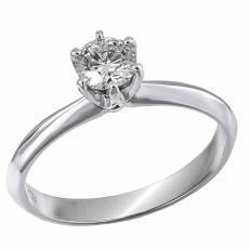 σε λευκό χρώμα gold 18 καρατίων Μονόπετρα δαχτυλίδια - Μονόπετρα ... 0eb25aa065e