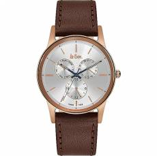 Αντρικό ρολόι Lee Cooper Brown Leather Strap LC06499.432