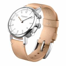 Kronaby Sweden connected Nord Beige leather strap A1000-0712