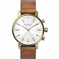 Kronaby Sweden connected Carat Brown Leather strap A1000-0717