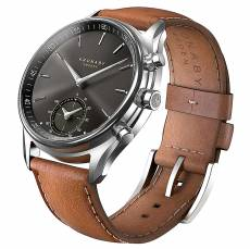 Kronaby Sweden connected Sekel Brown leather strap A1000-0719