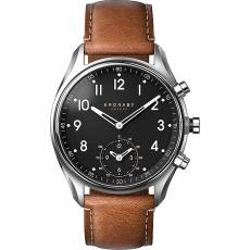 Kronaby Sweden connected Apex Brown leather strap A1000-0729