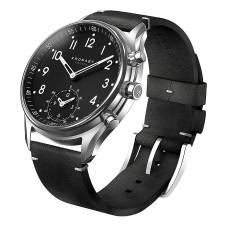 Kronaby Sweden connected Apex Black leather strap A1000-1399