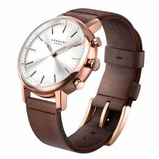 Kronaby Sweden connected Carat Brown leather strap A1000-1401