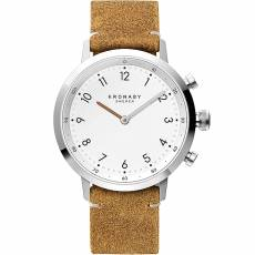 Kronaby Sweden connected Nord Brown Leather strap A1000-3128