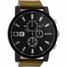 OOZOO XXL Brown Leather strap C9033