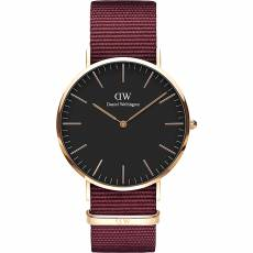 Daniel Wellington Roselyn Bordeaux fabric Strap 40,00mm DW00100269