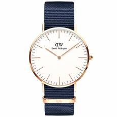 Daniel Wellington Bayswater Blue fabric Strap 40,00mm DW00100275
