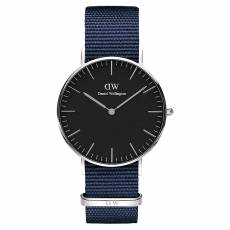 Daniel Wellington Bayswater Blue fabric Strap 36,00mm DW00100282