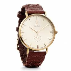 Αντρικό ρολόι Nick Cabana Talisman Brown leather strap NC109