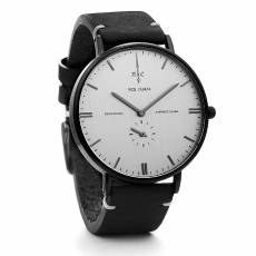 Nick Cabana ρολόι Talisman Leather Black strap NC112