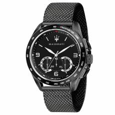 Μαύρο ρολόι Maserati Traguardo Quartz Chronograph R8873612031 b1a63f9c7e6