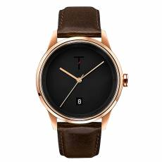 Ρολόι Tylor Rose Gold Brown Leather Strap TLAB005