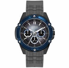 Ανδρικό ρολόι Guess Grey Blue Multifunction W1302G3