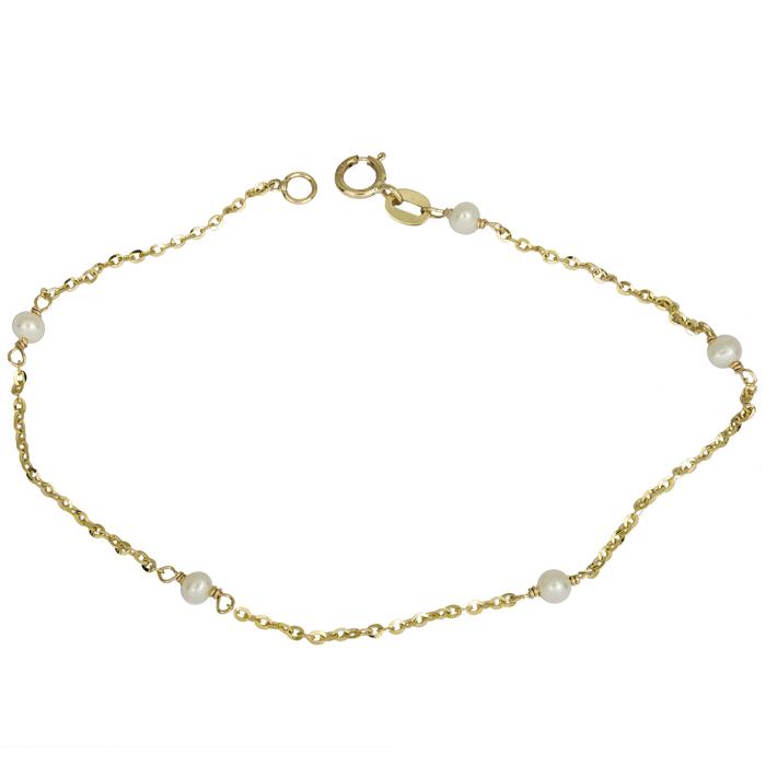 Χρυσό Βραχιόλι Κ14 000881 Χρυσός 14 Καράτια