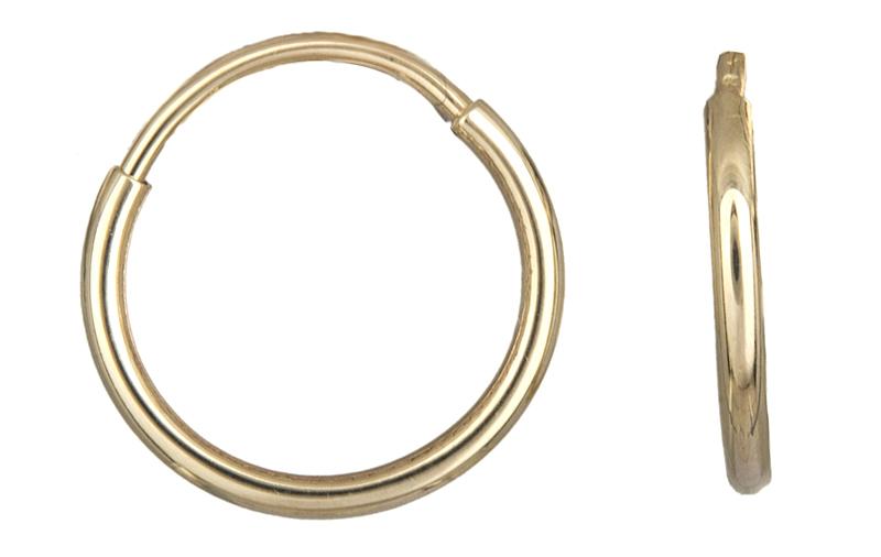 Χρυσά Σκουλαρίκια Κρίκοι Κ14 001011 001011 Χρυσός 14 Καράτια