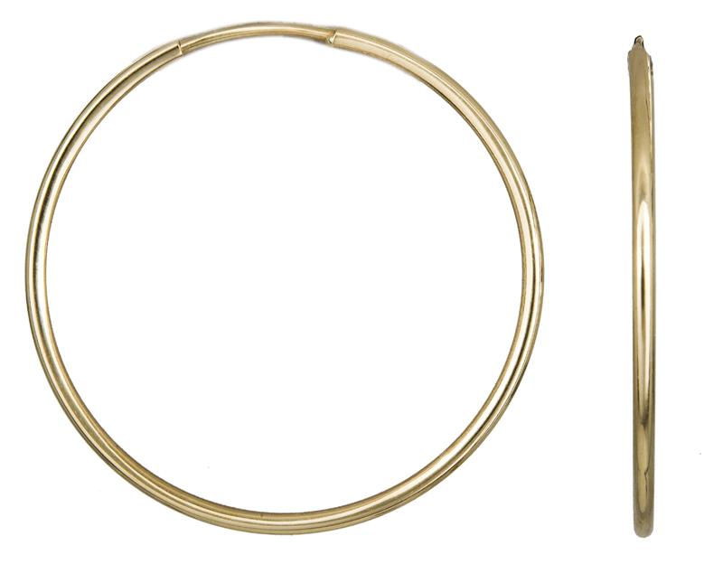Χρυσά Σκουλαρίκια Κρίκοι Κ14 001015 001015 Χρυσός 14 Καράτια