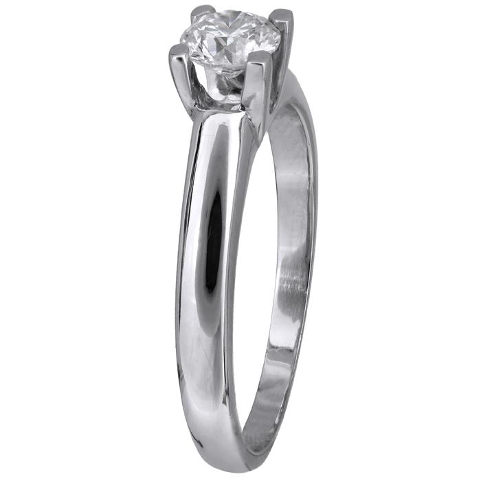 Δαχτυλίδι με μπριγιάν λευκόχρυσο 18Κ 011577 011577 Χρυσός 18 Καράτια