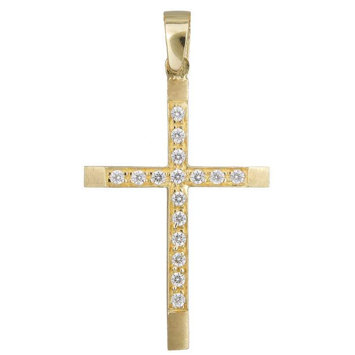 Χρυσός σταυρός 14 Κ 012306 012306 Χρυσός 14 Καράτια