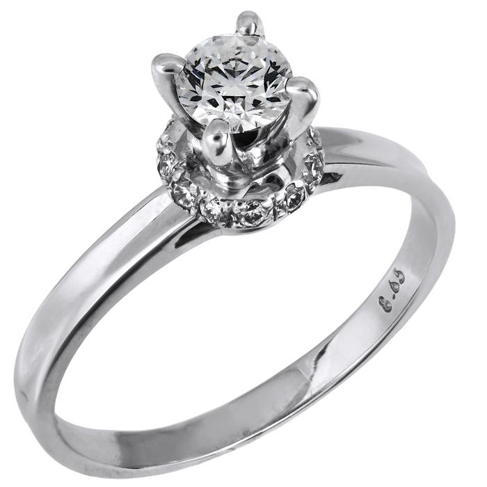Μονόπετρο δαχτυλίδι 18 Κ κοπής Brilliant 001445 001445 Χρυσός 18 Καράτια