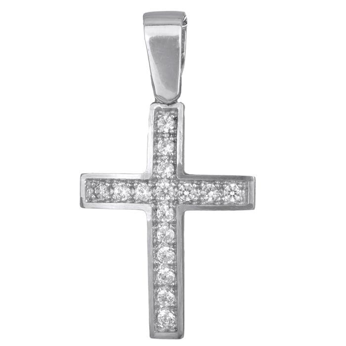 Γυναικείος σταυρός 015193 015193 Χρυσός 14 Καράτια