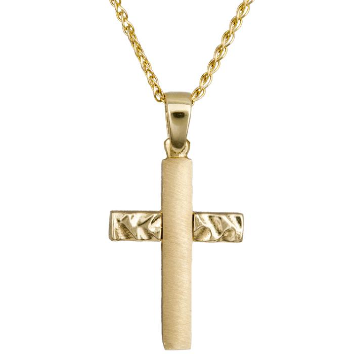 Χρυσός σταυρός C015330 015330C Χρυσός 14 Καράτια