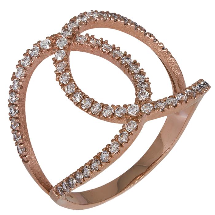 Ροζ Gold Σειρέ Δαχτυλίδια 016252 016252 Χρυσός 14 Καράτια