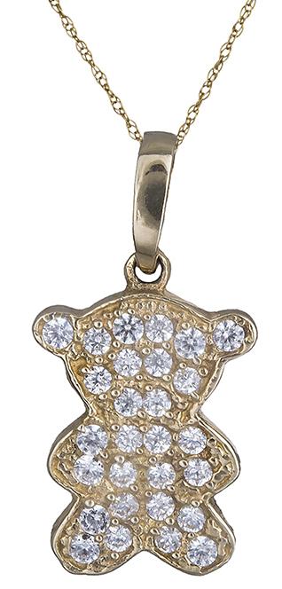 9f515e06f4e Κολιέ με αρκουδάκι Κ14 000188 000188 Χρυσός 14 Καράτια
