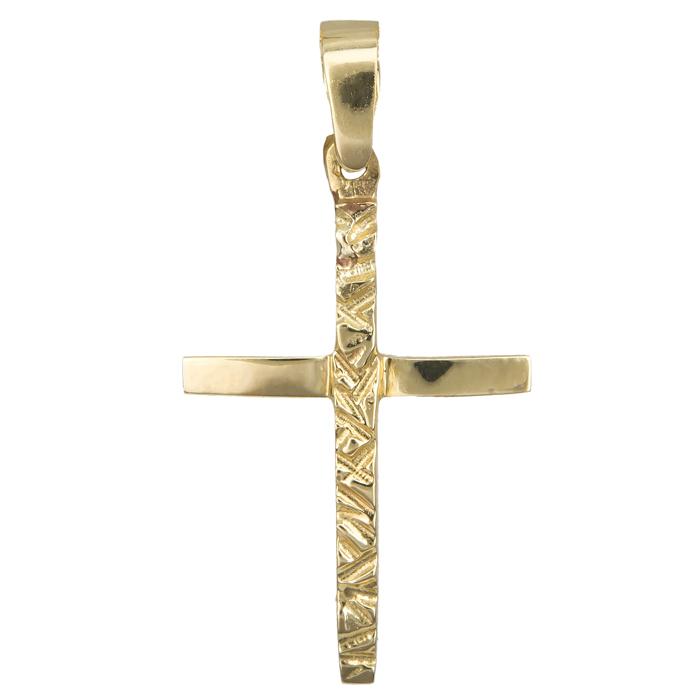 Χρυσός σταυρός 019061 019061 Χρυσός 14 Καράτια