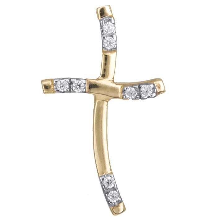 Χρυσός σταυρός γυναικείος 14 Κ 001987 001987 Χρυσός 14 Καράτια