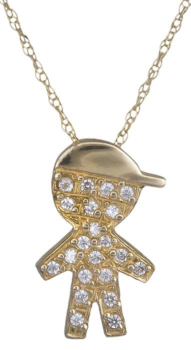 Παιδικό Χρυσό Κρεμαστό Κ14 000198 000198 Χρυσός 14 Καράτια