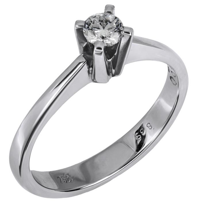 Μονόπετρο δαχτυλίδι με διαμάντι 18Κ 023438 023438 Χρυσός 18 Καράτια χρυσά κοσμήματα δαχτυλίδια μονόπετρα