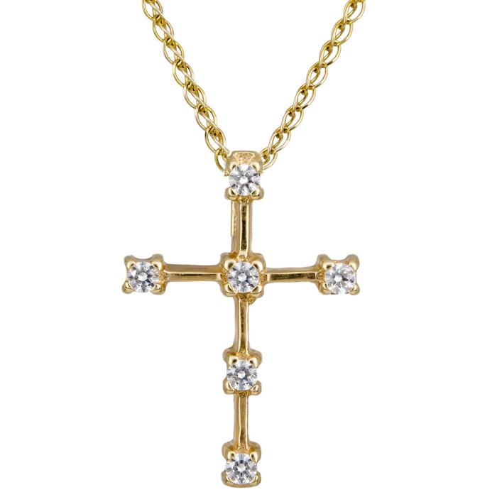 Σταυρός χρυσός 14 καράτια C002433 002433C Χρυσός 14 Καράτια