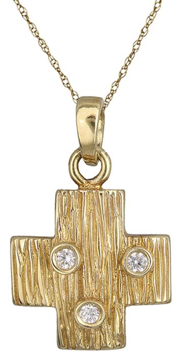 Χρυσός Σταυρός Κ14 000262 000262 Χρυσός 14 Καράτια χρυσά κοσμήματα σταυροί