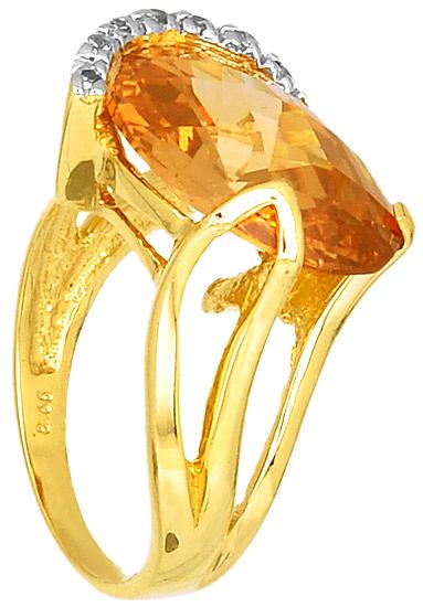 Δίχρωμο Δαχτυλίδι Κ14 000302 Χρυσός 14 Καράτια