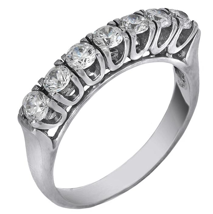 Λευκόχρυσο Δαχτυλίδι Κ14 000311 000311 Χρυσός 14 Καράτια