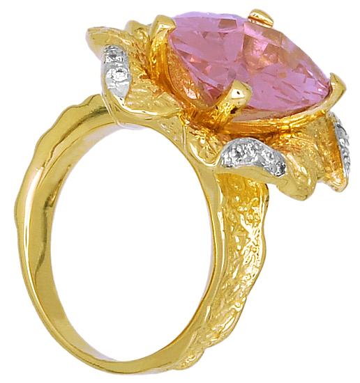 Δίχρωμο Δαχτυλίδι Κ14 000312 000312 Χρυσός 14 Καράτια χρυσά κοσμήματα δαχτυλίδια με μαργαριτάρια και διάφορες πέτρες