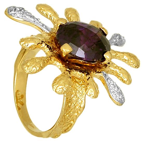 Δίχρωμο Δαχτυλίδι Κ14 000316 000316 Χρυσός 14 Καράτια χρυσά κοσμήματα δαχτυλίδια με μαργαριτάρια και διάφορες πέτρες