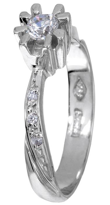 Μονόπετρο δαχτυλίδι 013808 013808 Χρυσός 9 Καράτια