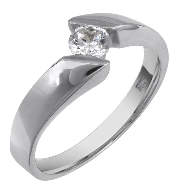 Δαχτυλίδι μονόπετρο 013806 013806 Χρυσός 9 Καράτια
