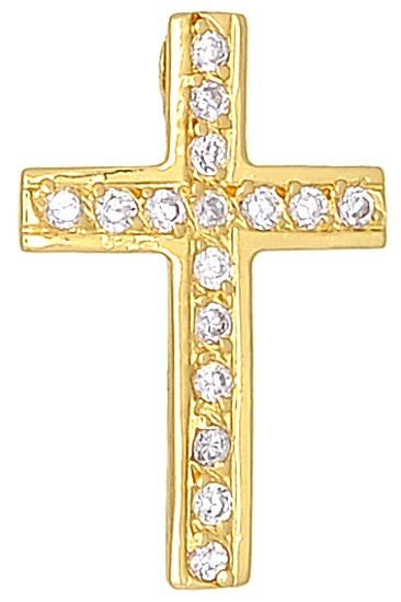 Xρυσό Σταυρουδάκι 000442 000442 Χρυσός 14 Καράτια