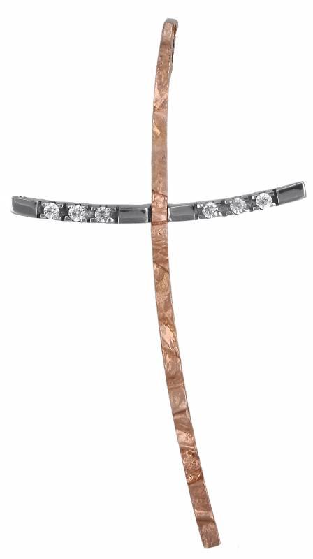Σταυροί Βάπτισης - Αρραβώνα Γυναικείος σταυρός Κ14 000443 000443 Γυναικείο Χρυσός 14 Καράτια
