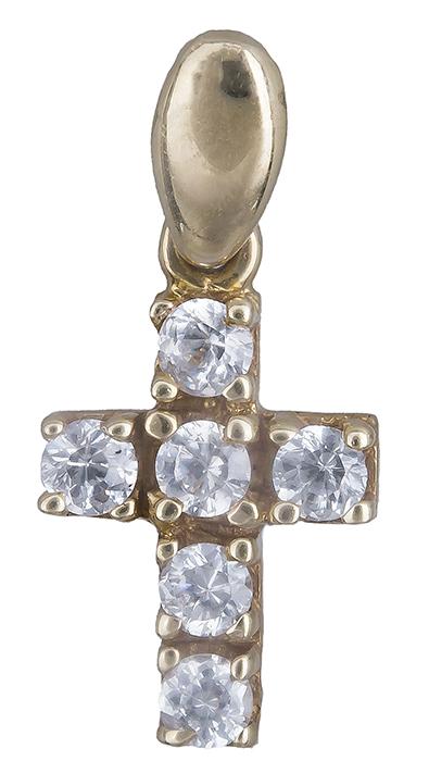 Χρυσός Σταυρός Κ14 000466 000466 Χρυσός 14 Καράτια χρυσά κοσμήματα σταυροί